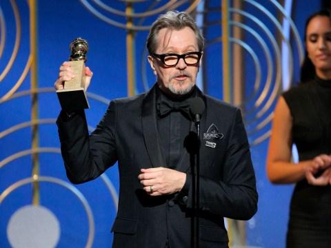 Golden Globes 2018: Gary Oldman wins best actor for Darkest Hour as Ewan McGregor receives Fargo gong