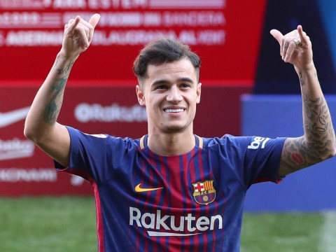 Barcelona confirm Philippe Coutinho will wear No.14 shirt
