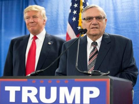 Pardoned ex-Arizona sheriff and big Trump fan is running for Senate