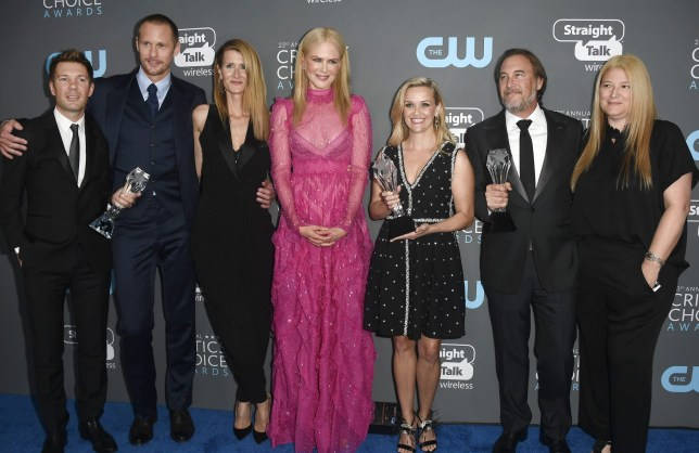 Big Little Lies cast at Critics Choice Awards