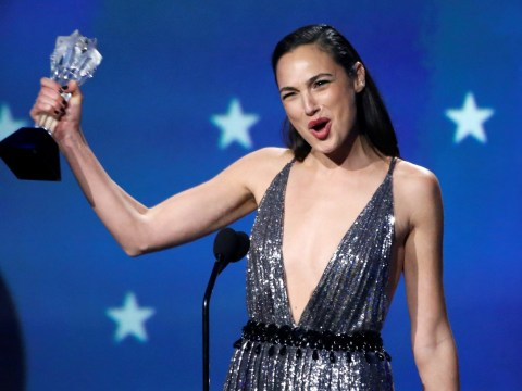 Gal Gadot is a real-life Wonder Woman as she champions women and #MeToo at Critics' Choice Awards