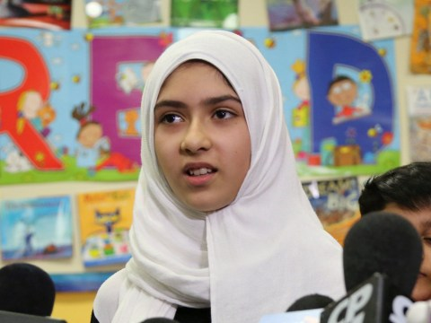 Man slashed hijab of girl, 11, as she walked to school