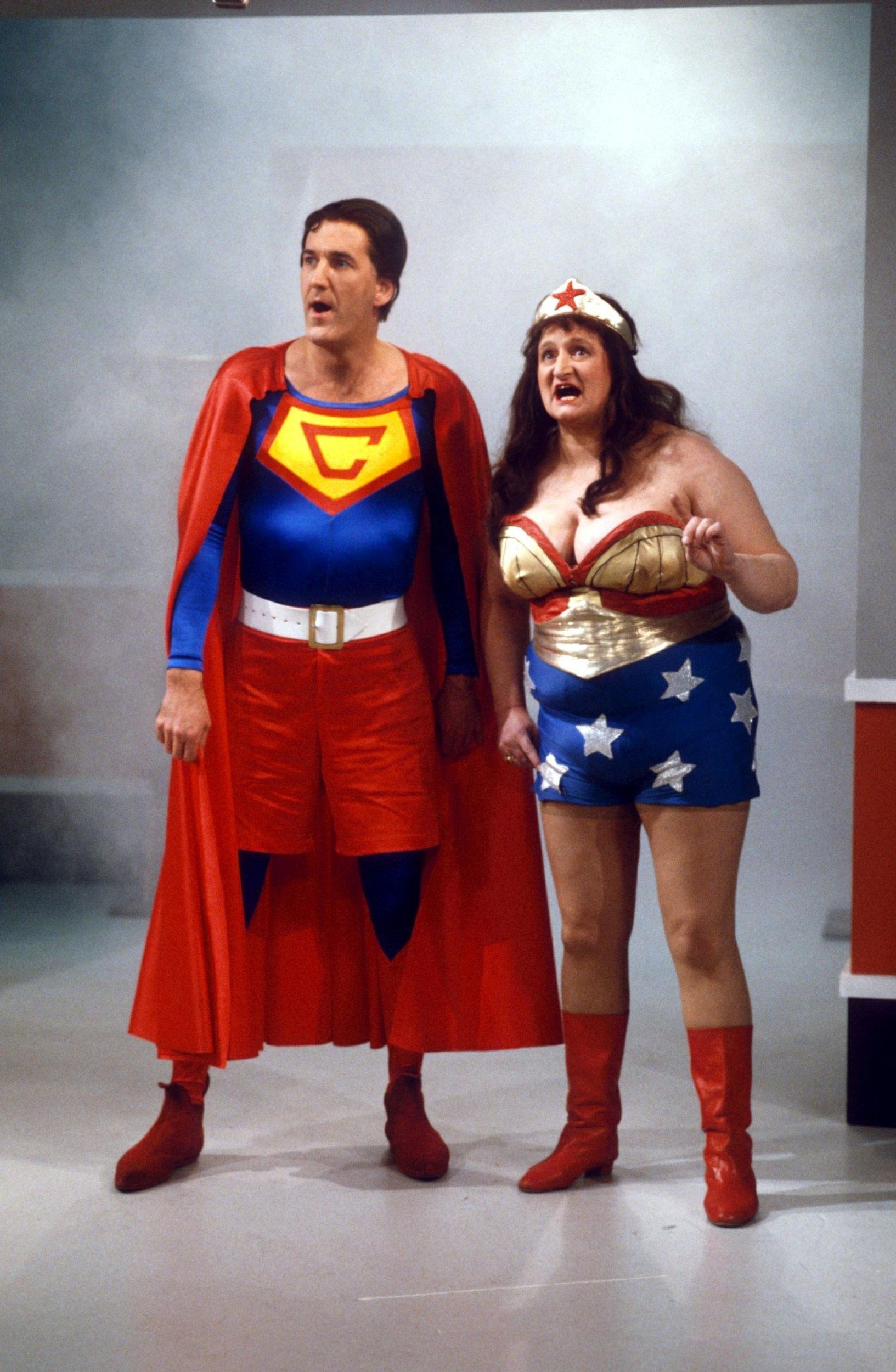 Tributes Pour In For Comedy Actress Bella Emberg U2013 Seen Here As Blunder  Woman U2013 As She Dies Aged 80 (Picture: ITV/REX/Shutterstock)