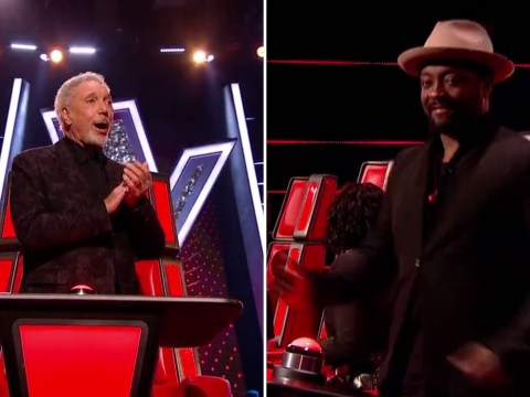 'Are you ready?': Tom Jones performs an impromptu rock and roll track on The Voice UK and the coaches are absolutely loving it