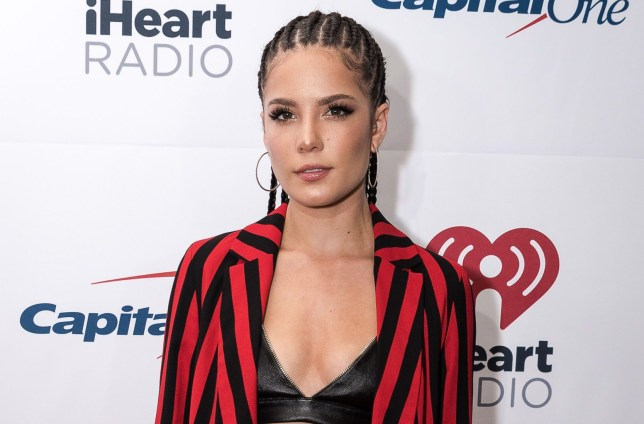 5891e1252 Halsey debuts 'Loser' neck tattoo in honour of Beck's hit single ...