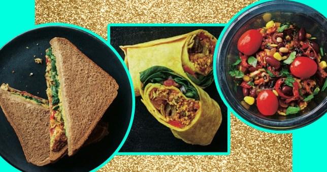 Asda Launches New Vegan Range Of Sandwiches Wraps And