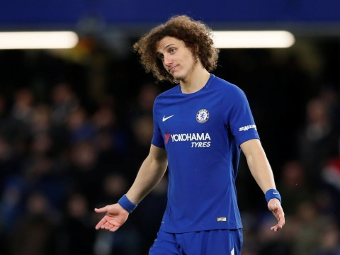 Chelsea fans urge Antonio Conte to sell David Luiz after FA Cup scare