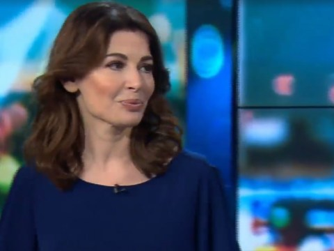 Nigella Lawson tries to rebuff questions about cooking 'innuendo' during awkward AF interview