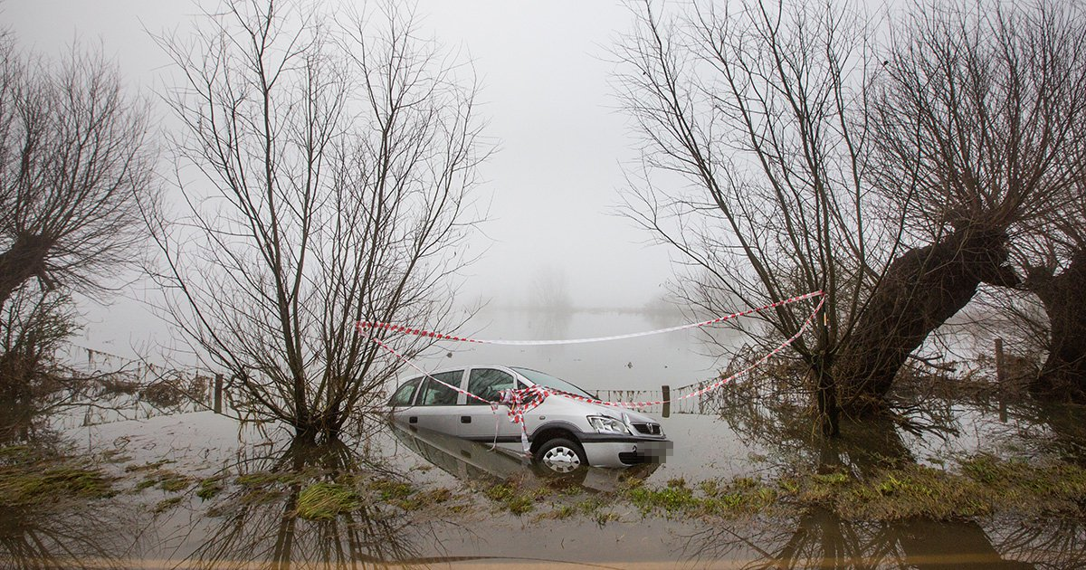 Storm Fionn sparks flood warnings and there's more snow on the way