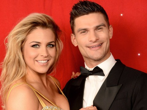 Gemma Atkinson feels like ex Strictly partner Aljaz Skorjanec is 'cheating' on her after pairing up with Kate Silverton
