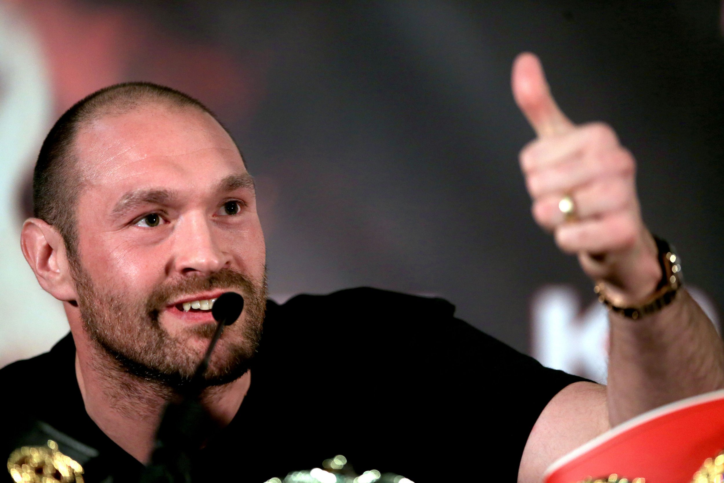 Boxing legend Mike Tyson responds to Tyson Fury's knockout prediction
