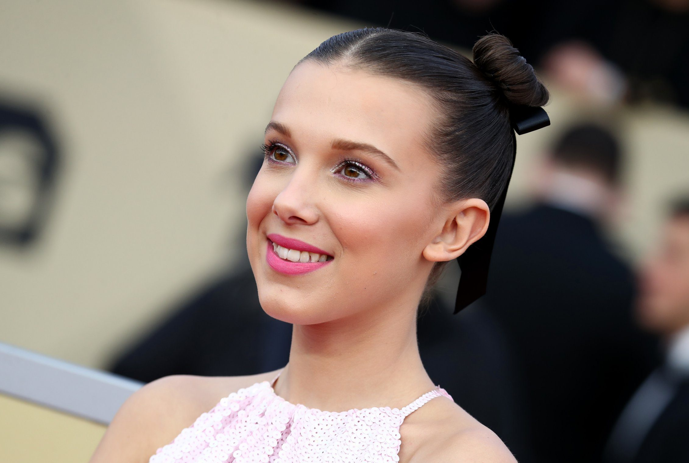 Millie Bobby Brown continues to fangirl over Kim Kardashian as she's sent care package