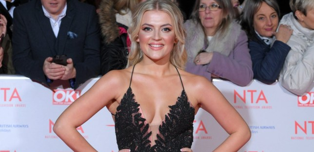 Lucy Fallon at the TV Awards