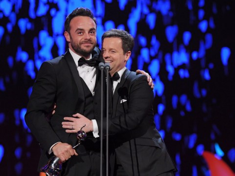 Ant and Dec thank fans after 'difficult' year as they pick up 17th NTA gong