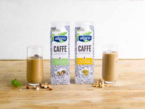 Alpro launches new chilled range of flavoured coffee drinks