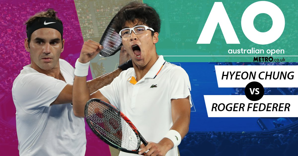 Can Hyeon Chung channel his inner Novak Djokovic and conquer Roger Federer at the Australian Open?