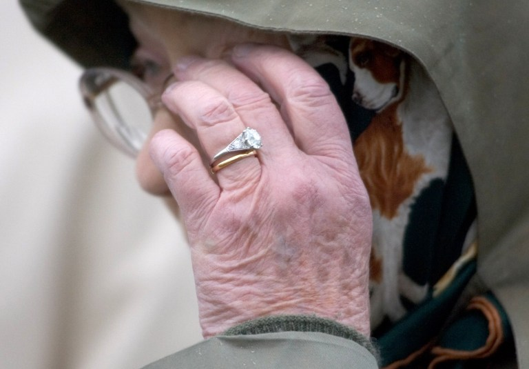 2fe14abaf The Queen's engagement ring has been firmly on her finger for a staggering  71 years (Picture: Antony Jones/UK Press via Getty Images)