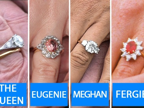 Meghan Markle, Kate Middleton, Princess Eugenie and The Queen – royal engagement ring values compared