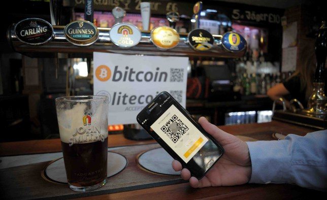 Pay for your pint with bitcoin