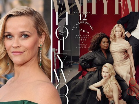 Reese Witherspoon gains third leg and Oprah is given third hand in Vanity Fair Photoshop fail