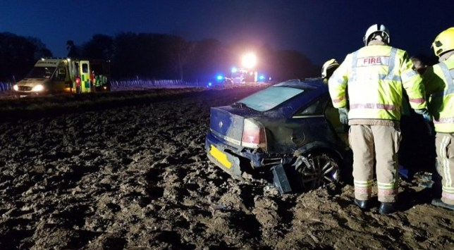 Council slammed as 37 cars crash after tweet about not