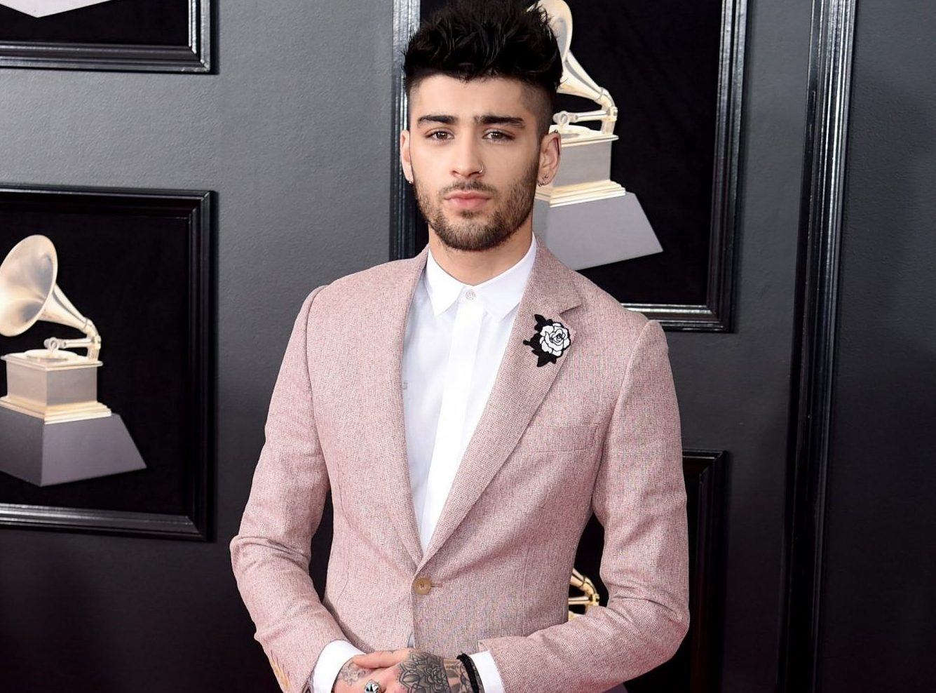 Zayn Malik at Grammys