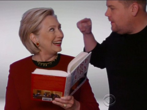 Hillary Clinton delivers Fire And Fury against Donald Trump in savage Grammys skit