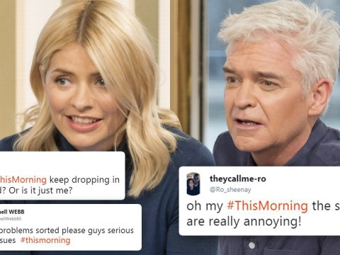 'Sort it out!': Holly and Phil apologise as This Morning hit by sound problems up and down the country