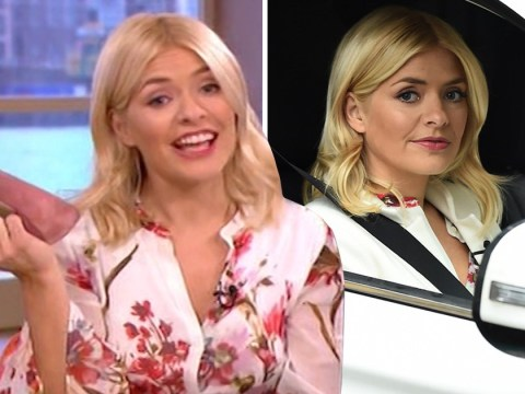 Holly Willoughby challenges 'sexist' female parking spaces as she nails reversing – in heels