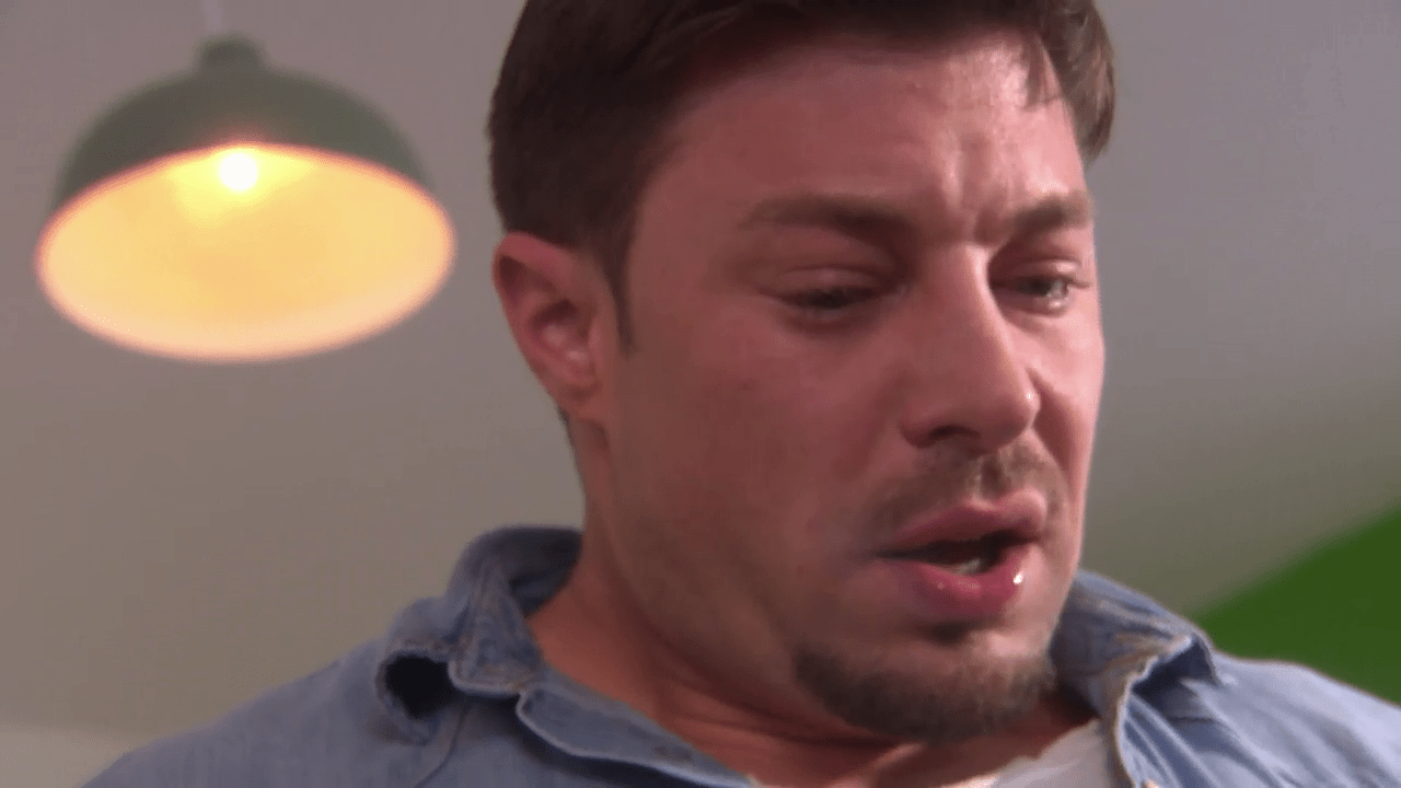 Ryan is caught in Hollyoaks