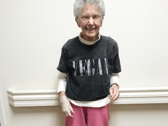 Meet Anne, the grandma who turned vegan three weeks before her 96th birthday