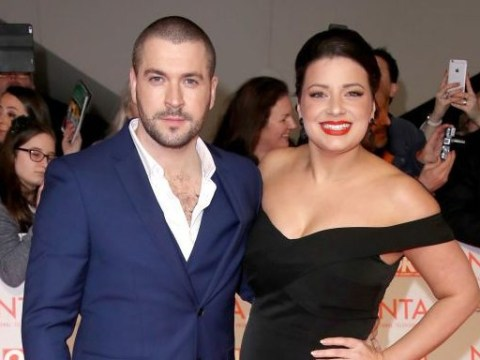 Coronation Street star Shayne Ward slaps down claims that he rowed with Sophie Austin at the National Television Awards