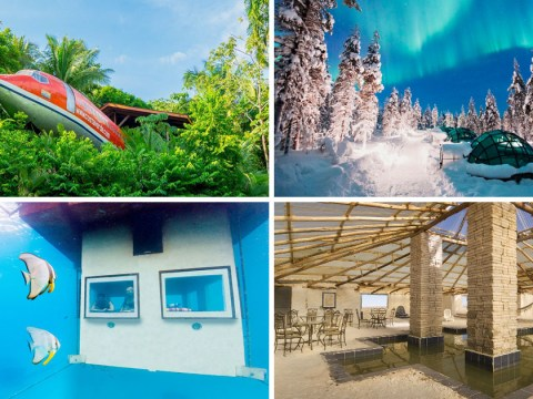 5 ridiculously amazing places to stay from around the world