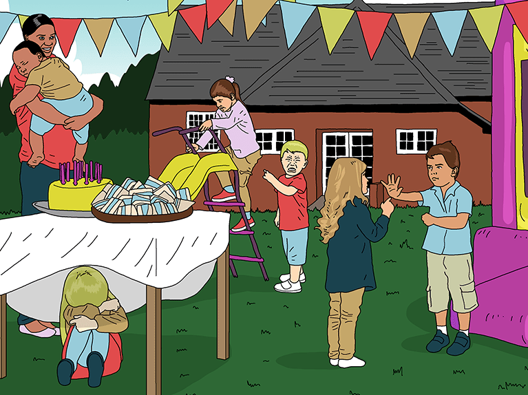 6 things you'll notice at every village hall party for toddlers