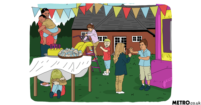 ILLUSTRATION REQUEST: XX things you'll notice at every village hall toddlers' party (Andrew)