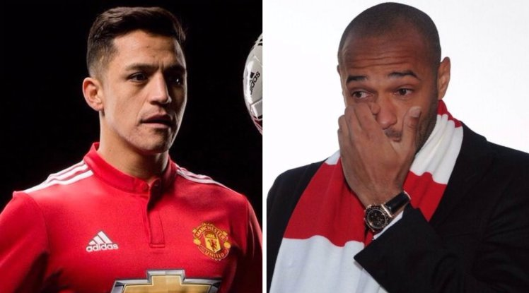 Thierry Henry 'never told me' to join Manchester United and he should manage Arsenal one day, says Alexis Sanchez