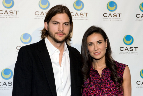 Ashton Kutcher fasted for a week in the woods after splitting up from Demi Moore