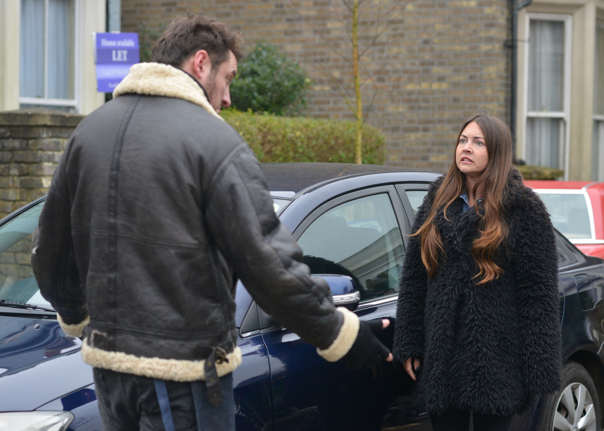 Martin stops Stacey from leaving in EastEnders