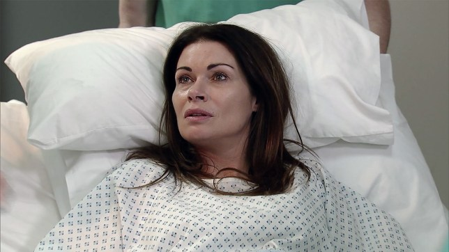 Carla has some news in Coronation Street