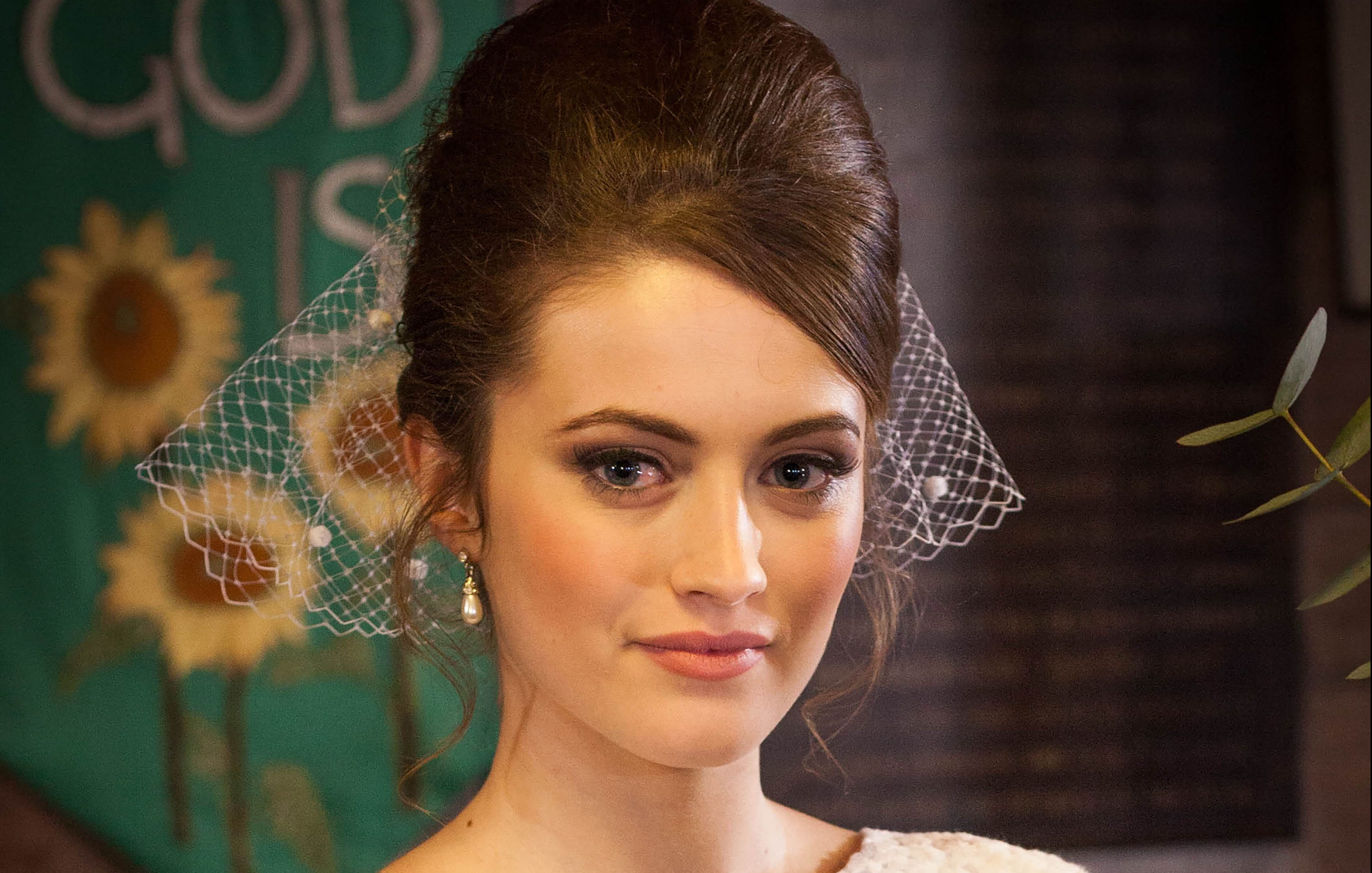 Lily gets ready for marriage in Hollyoaks