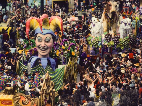 What does Mardi Gras mean and why is it celebrated?
