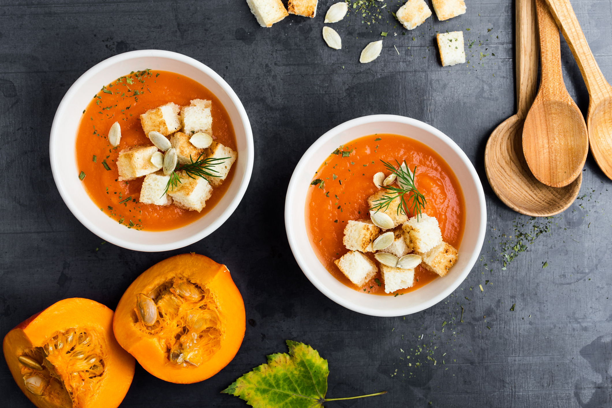 Eight delicious vegan soup recipes to help you keep warm