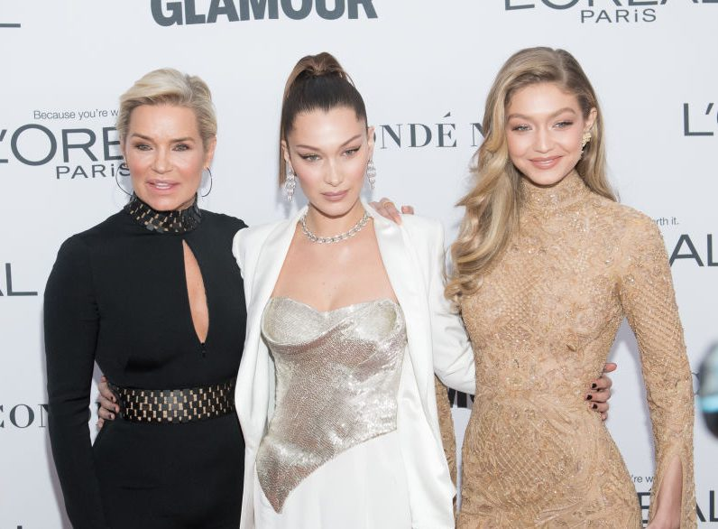 Gigi and Bella Hadid's mum is not here for claims they use Botox and fillers