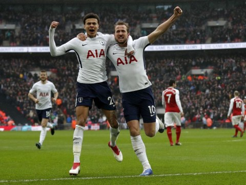 Harry Kane moves step closer to inevitable north London derby record as Tottenham beat Arsenal