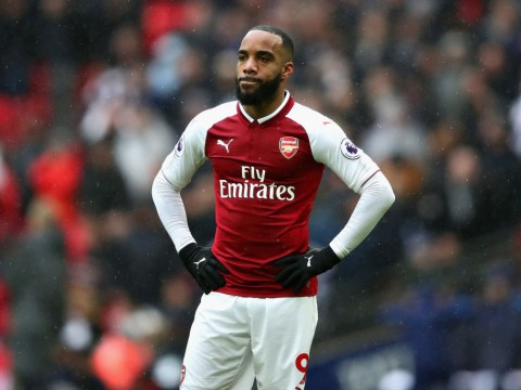 Alexandre Lacazette admits he was unhappy Arsene Wenger denied him chance of a first Arsenal hat-trick against CSKA Moscow