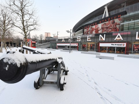SPL fixtures wiped out by weather, Tottenham v Rochdale goes ahead, concern over Arsenal v Man City