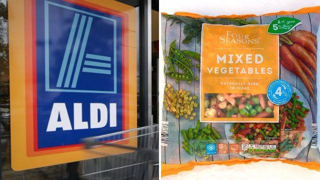 Aldi recalls frozen veg after rat was found in bag