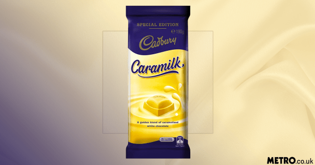 Caramilk bars picture: Woolworths/getty