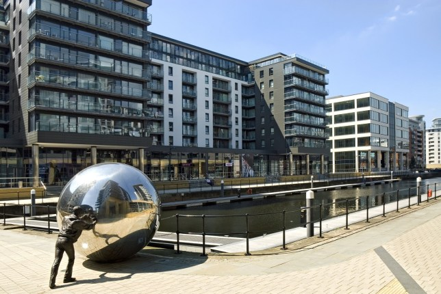 clarence dock in leeds
