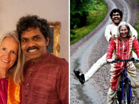 Man who cycled from India to Sweden for love is still very much in love